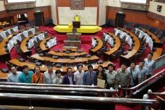Kunjungan Hormat Delegasi Buan-Gun County Council, Korea