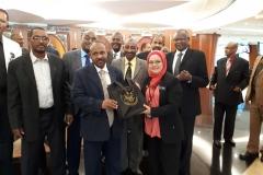 Kunjungan Hormat Delegasi Sudan