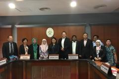 Kunjungan Hormat Delegasi US