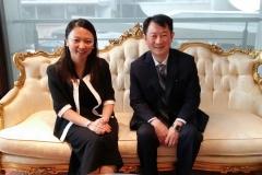Kunjungan Hormat Deputy High Commissioner of Singapore