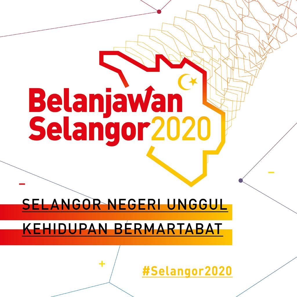 Infografik Belanjawan Selangor 2020