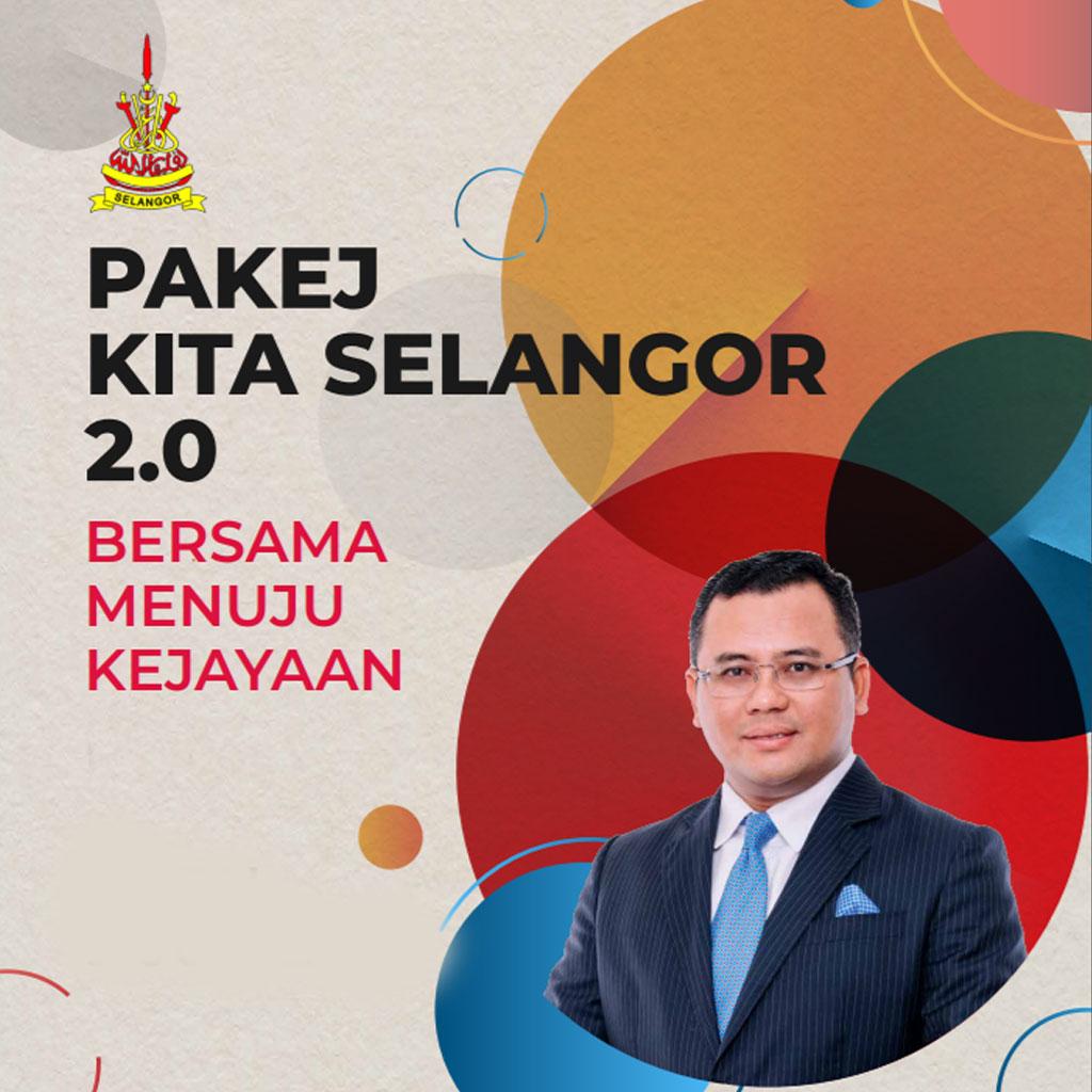 Infografik Pakej Kita Selangor 2.0